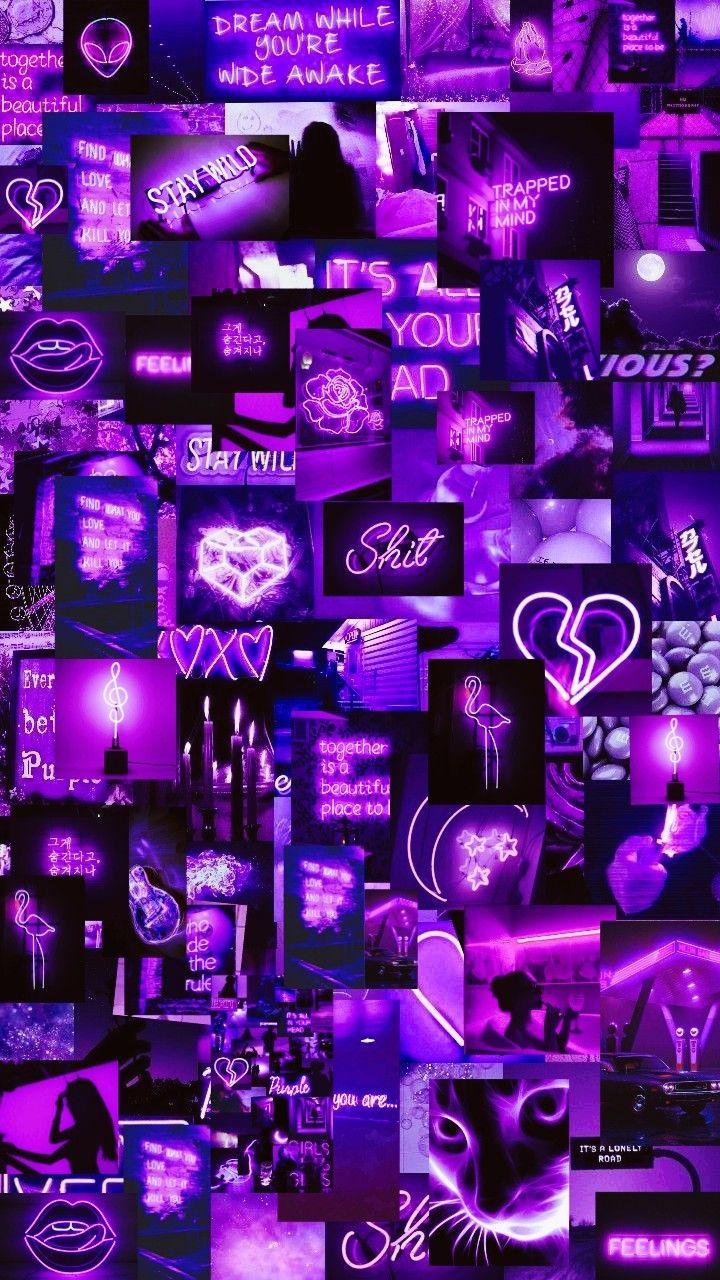 Loockscream Cores Wallpaper Iphone Neon Purple Wallpaper Iphone Purple Wallpaper