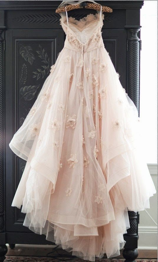 Pin By Velvet Gee On Tulle Pink Wedding Gowns Tulle Wedding Gown Princess Wedding Dresses