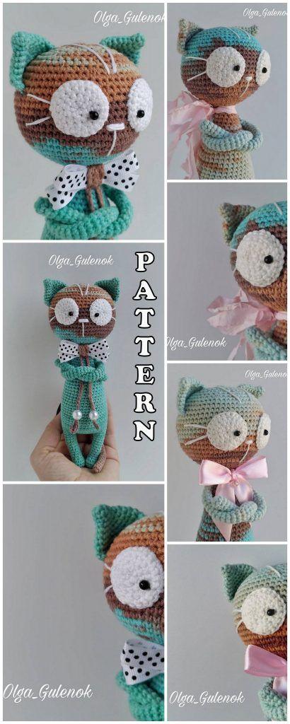 Meilleur Amigurumi Animal Cat Bear Elephant Piggy Free Crochet Patterns – Amigurumi …   – häkeln