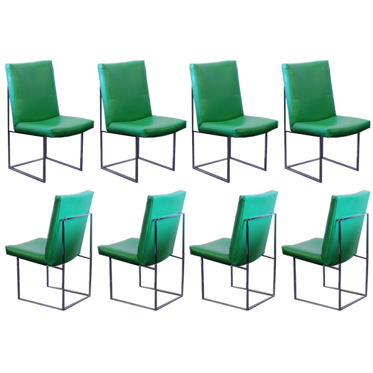 1stdibs Set Of Eight Milo Baughman For Thayer Coggin Dining Chairs Explore Items From 1 700