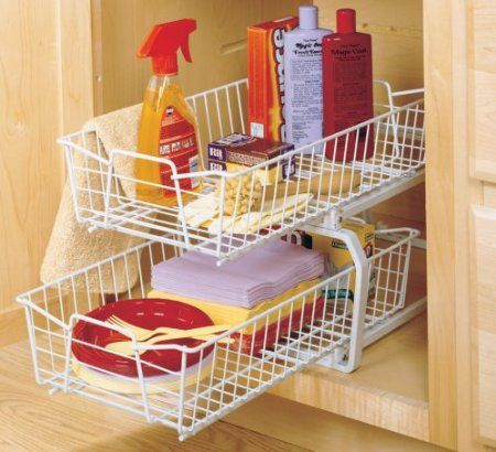 Amazon Com Closetmaid 3608 2 Tier 11 Inch Kitchen Cabinet