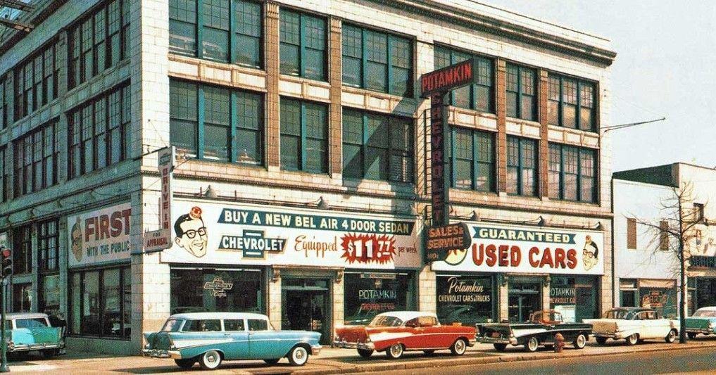 Potamkin Chevrolet 1957 Chevrolet Dealership