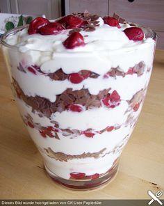 Photo of Black Forest Cherry Cream by smilke | chef