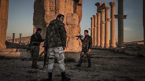 Exercito sírio antes da chegada do EI - Sergey Ponomarev/NYT