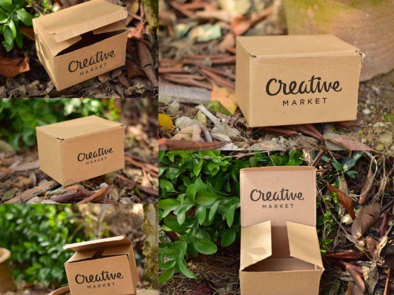 Download cardboard-box-mockup-free-psd   Box mockup, Mockup, Free boxes