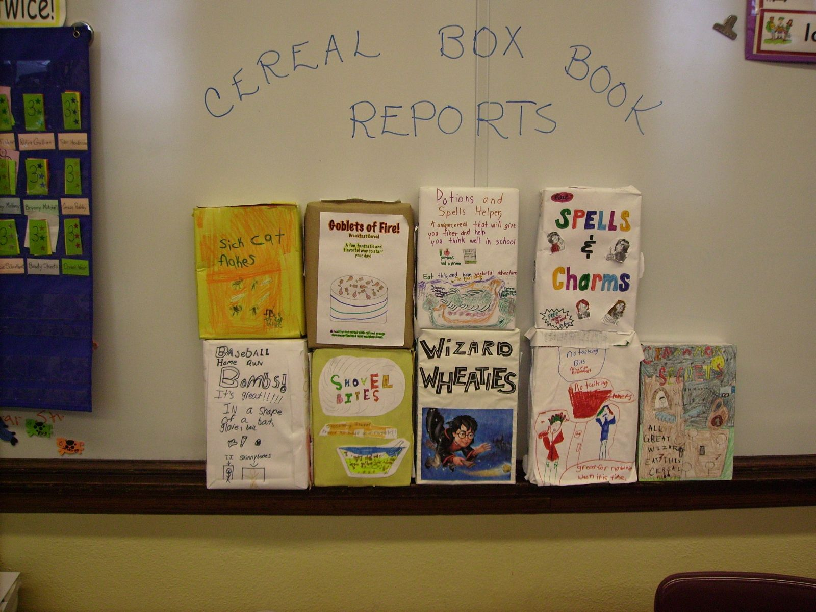engaging book reports cereal box book report pinterest books