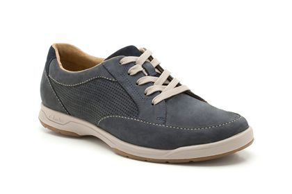 Mens Casual Shoes in Navy Nubuck Stafford Park5 from
