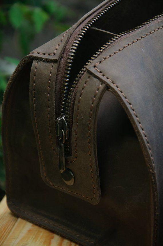 52d899bd3bd0 Leather Dopp Bag