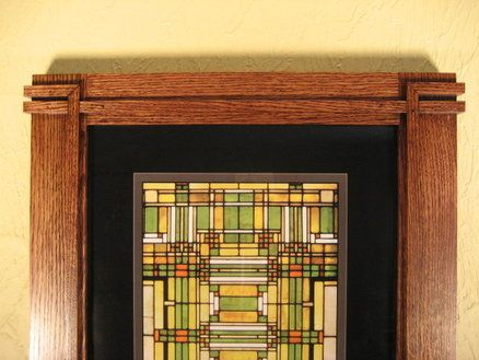 Prairie Style Picture Frame Picture Frames Prairie Style Frames On Wall