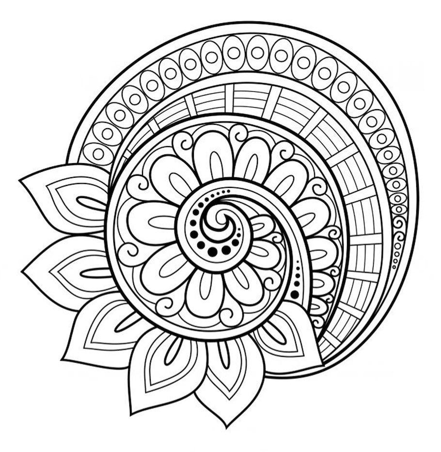 A big collection of unique mandala doodles Free to download