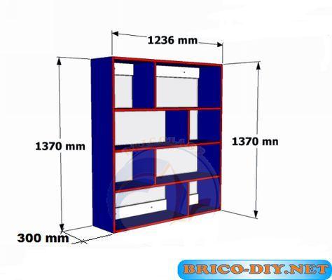Bricolaje diy planos gratis como hacer muebles de melamina for Software para diseno de muebles y optimizacion de corte gratis