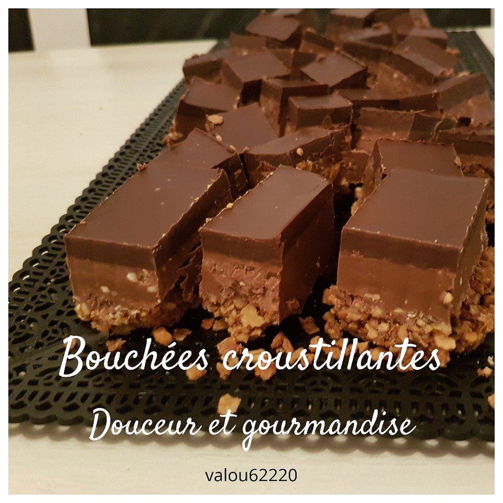 Photo of Crispy chocolate bites – The pleasures of Valou