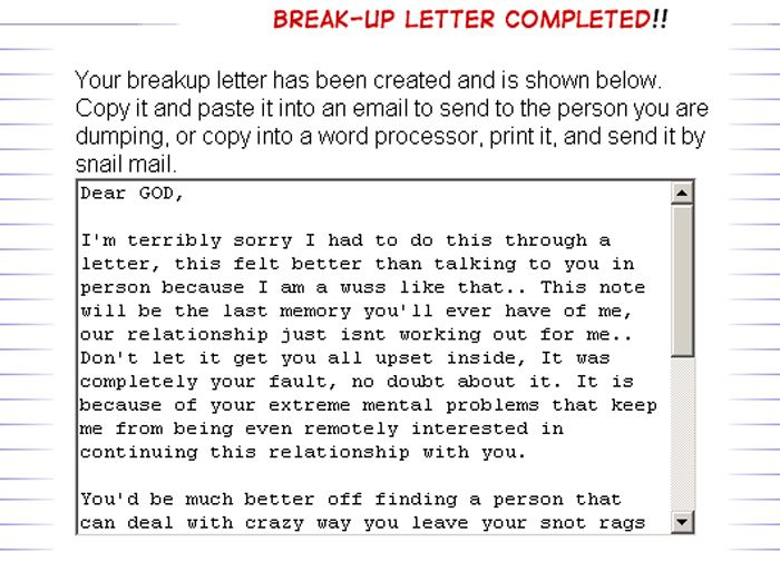 break letter for husband breakup these letters are the best and - breakup letters
