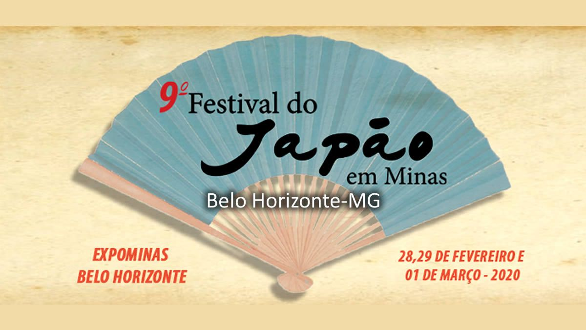 9º Festival Do Japao Em Minas 2020 Belo Horizonte Mg Em 2020