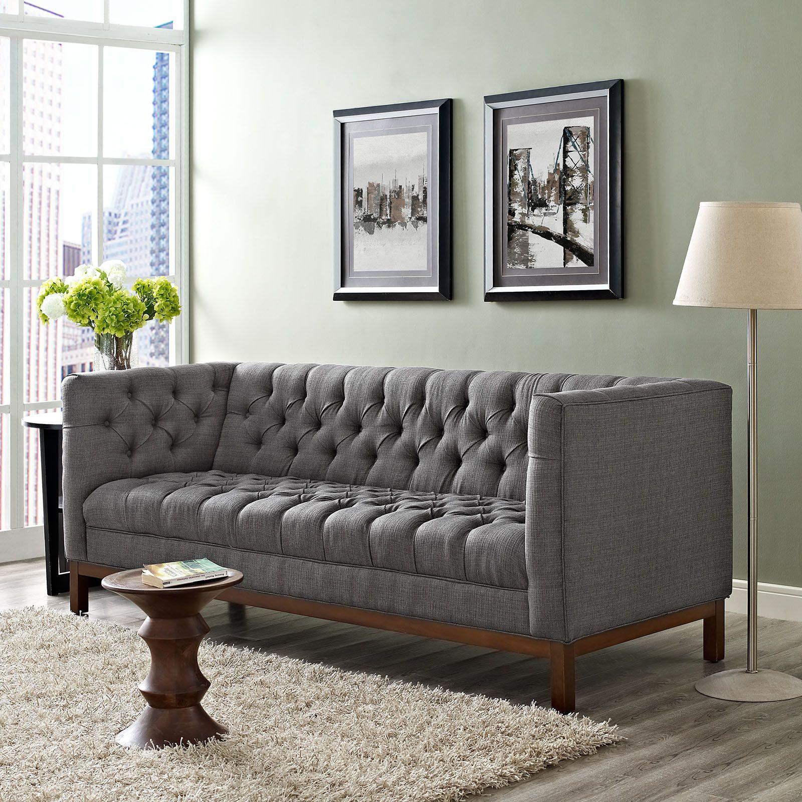 Paramour fabric sofa gray home furniture pinterest home gray