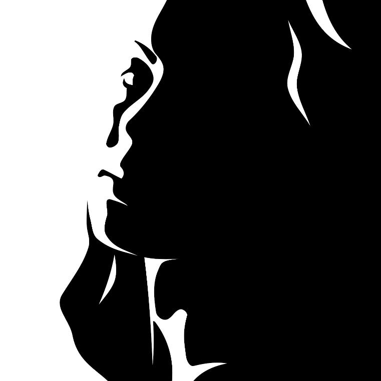 "A Woman Portrait ""Black and White"""
