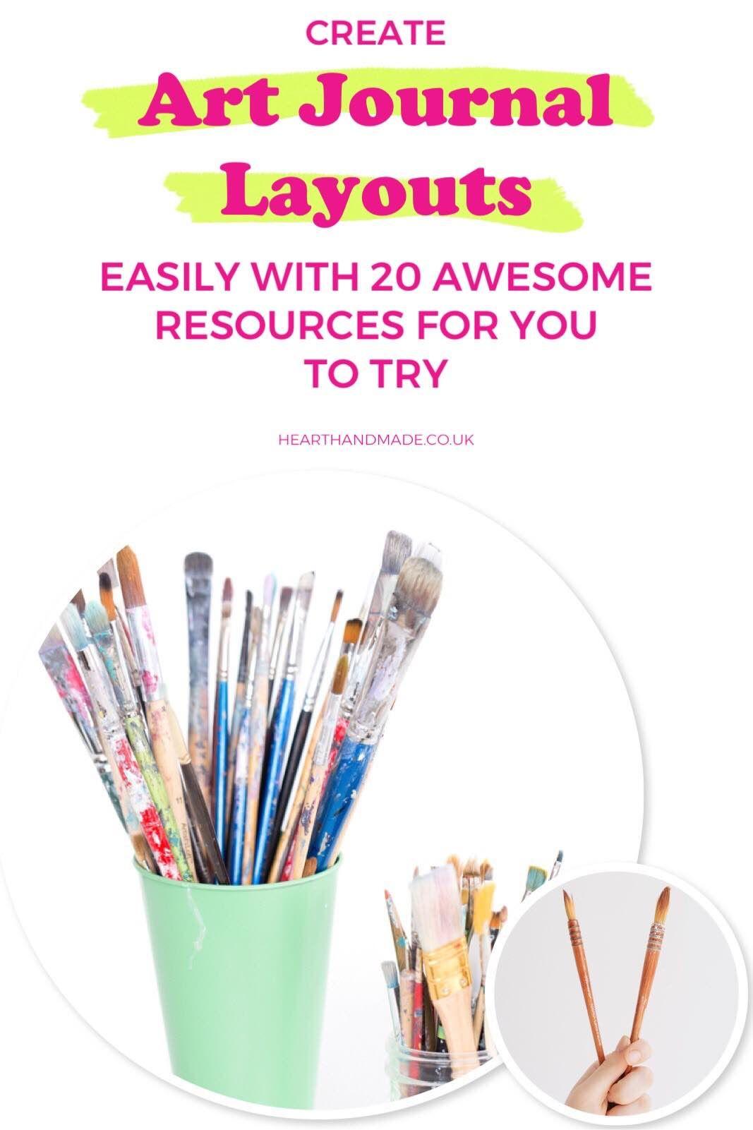 Создавайте страницы журнала с помощью этих 20 замечательных ресурсов.