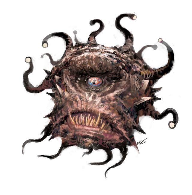 Beholder | Dungeon | Fantasy monster, Eldritch horror, Dnd monsters