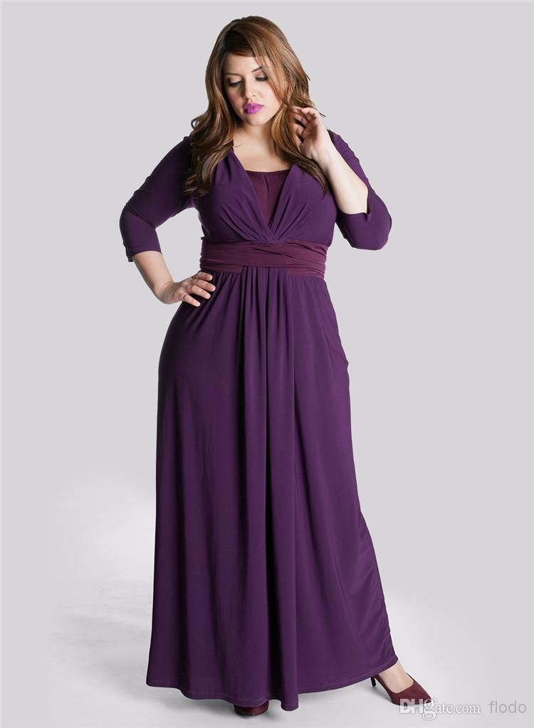 Modest Plus Size Mother of the Bride Dresses for Fat Women 2016 ...