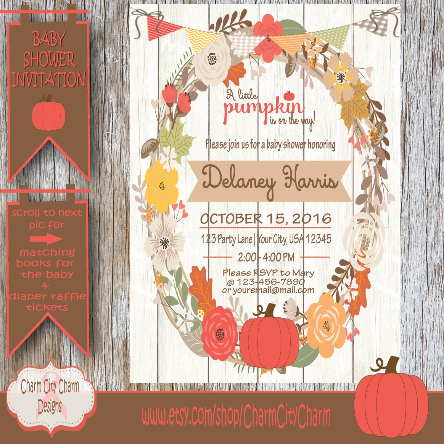 Autumn Baby Shower Invitations Choice Image - baby shower ...