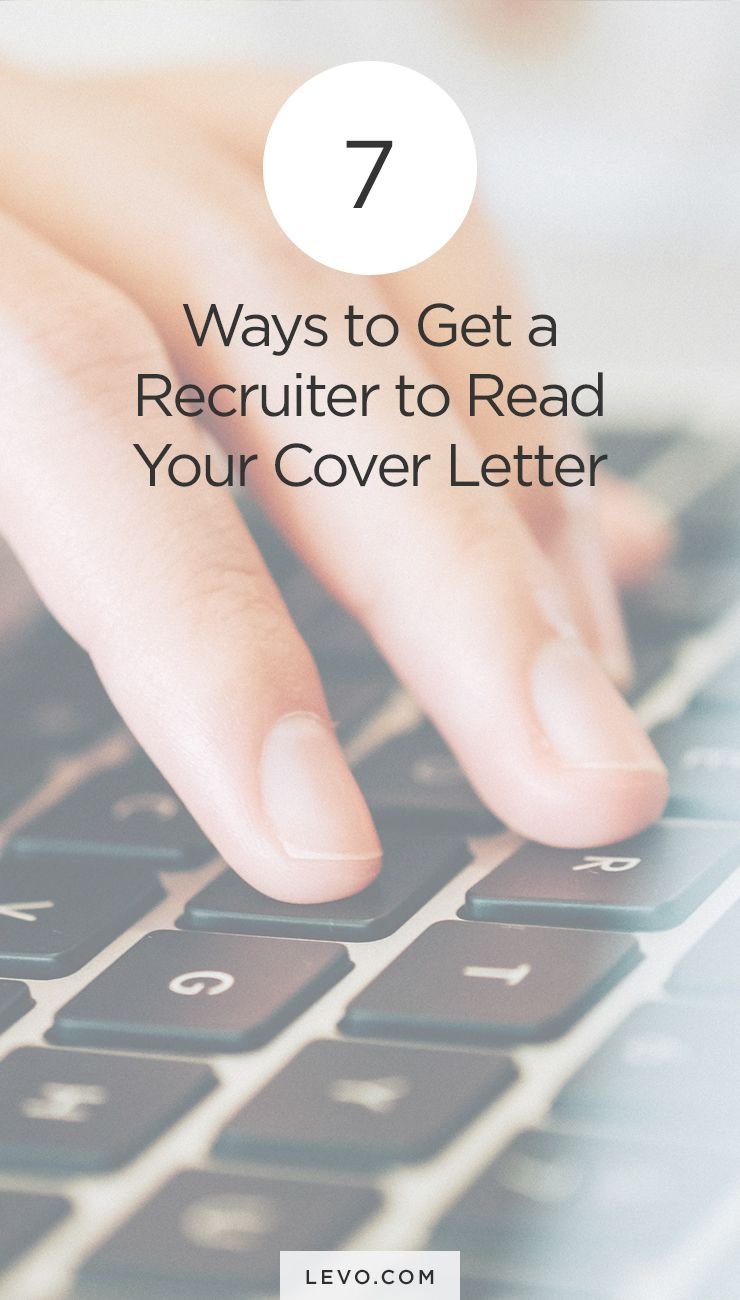 Ways To Get A Recruiter To Read Your Cover Letter  Resume Cover