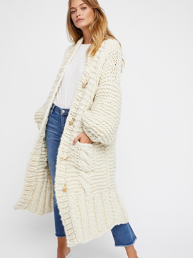 66bd7ab41e6 Rockstar Sweater Coat | Free People | Sweater coats, Sweaters ...