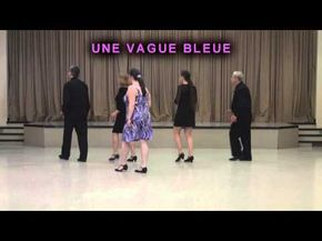 une vague bleue danse en ligne youtube danses. Black Bedroom Furniture Sets. Home Design Ideas