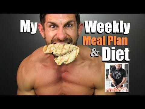 get lean build muscle diet plan my weekly meal plan prep