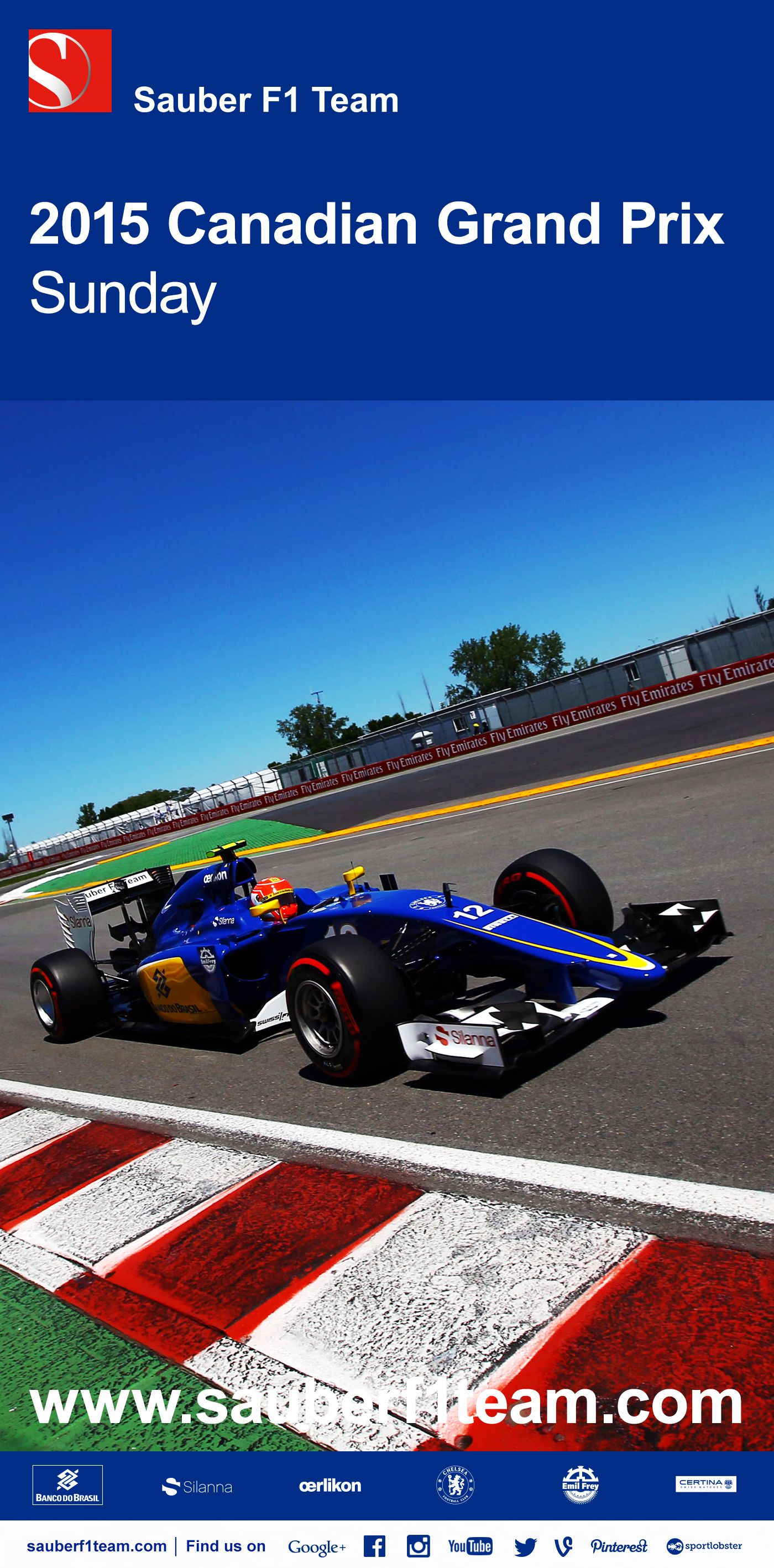 bf7c7d33b11a Disappointing lack of pace puts Marcus and Felipe on P12 and P16 - Sauber F1  Team - full report and quotes on our website -  F1  SauberF1Team  Formula1  ...