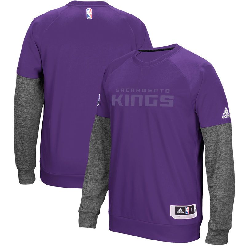 Sacramento Kings adidas 2016 Christmas Day Second Half Pullover Sweatshirt  - Purple 76ae4ccce177