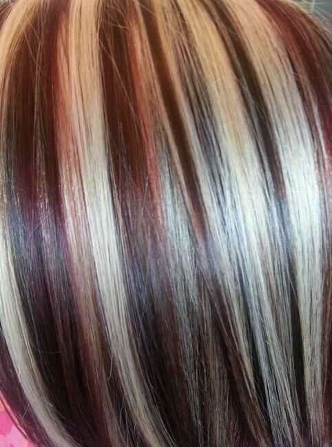 Multiply Highlights Hair Pinterest Hair Coloring Hair Style