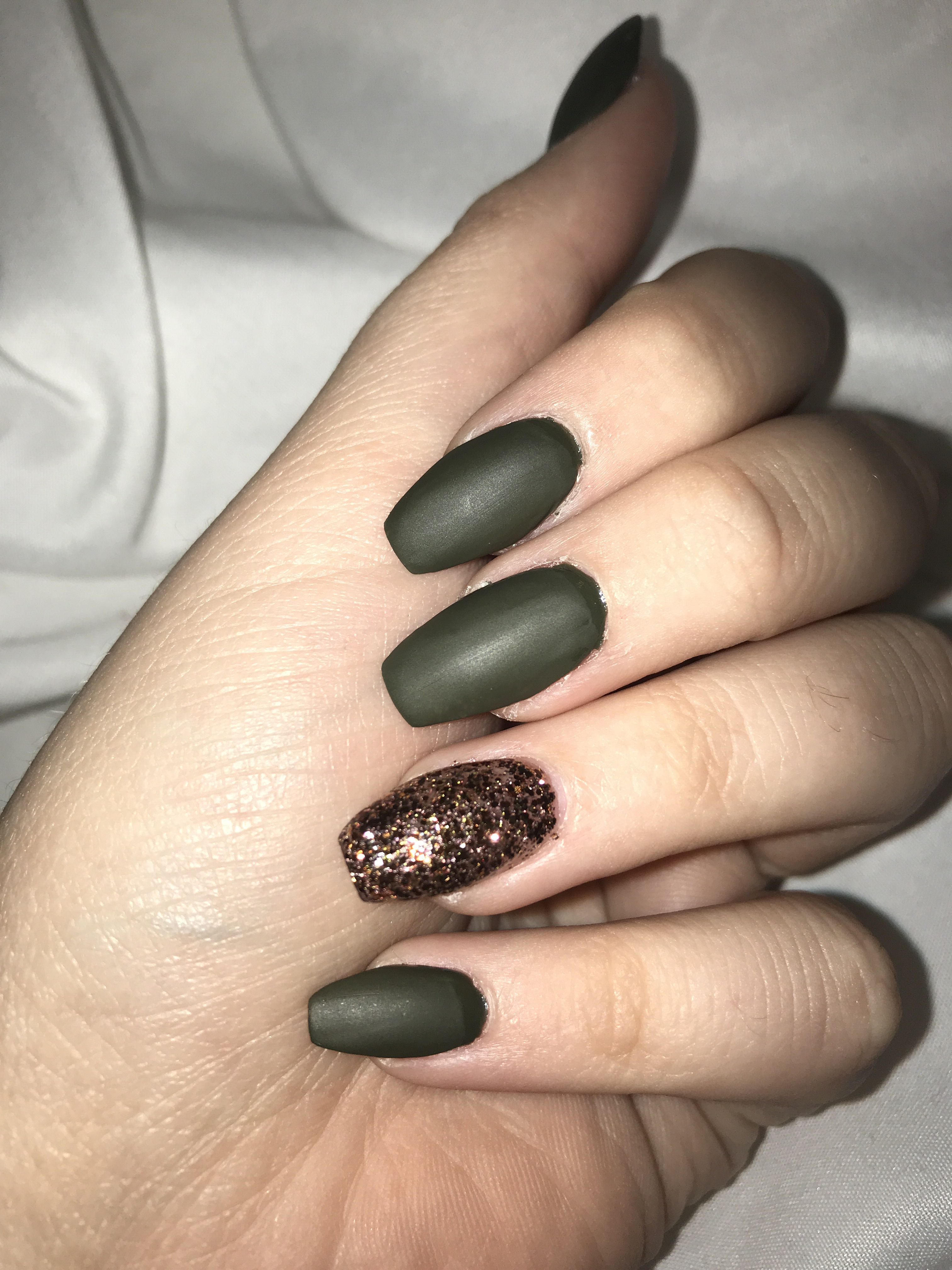 Army Green Nails Green Nails Green Nail Designs Army Nails