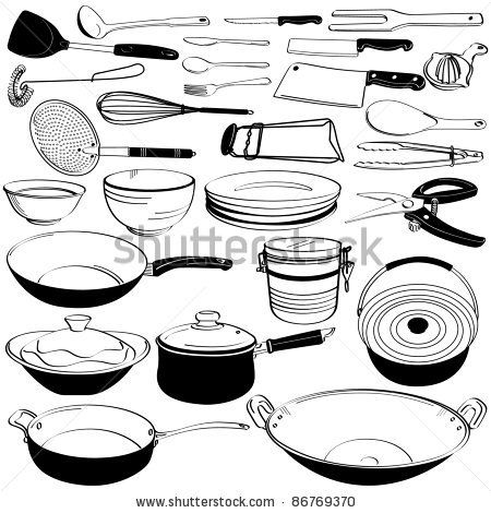 Kitchen Tools And Equipment Names