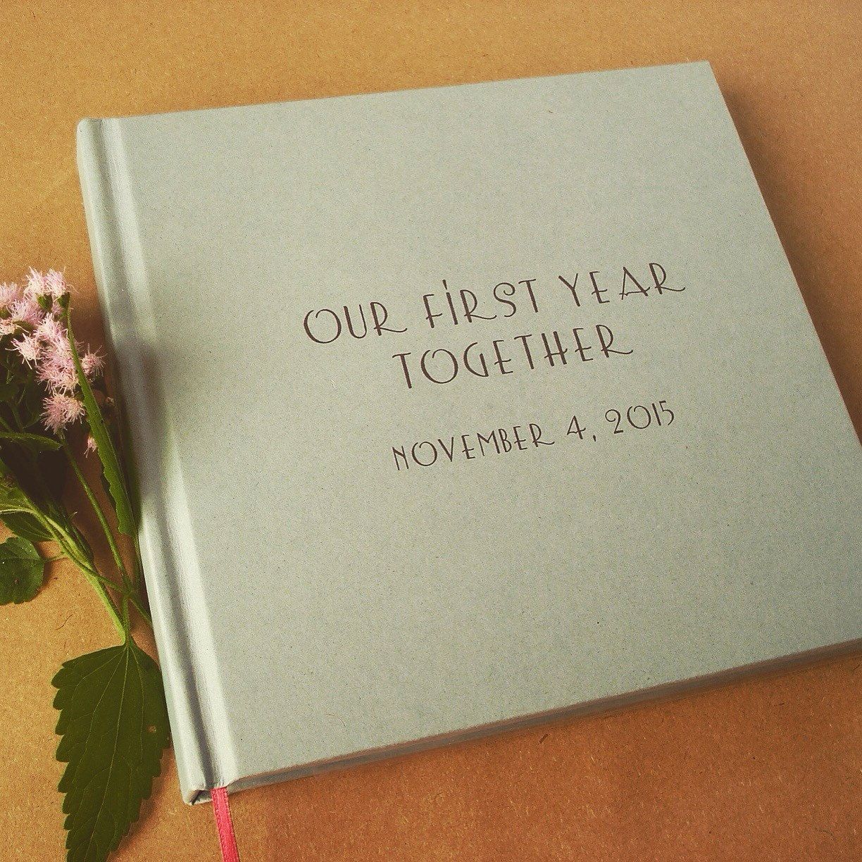 Personalized First Wedding Anniversary Gift, Custom 1st