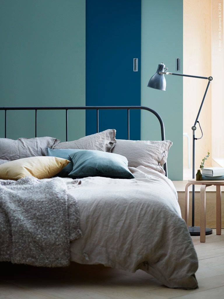 influenced by historical metal furniture kopardal bed is built with a sturdy in dark grey metal