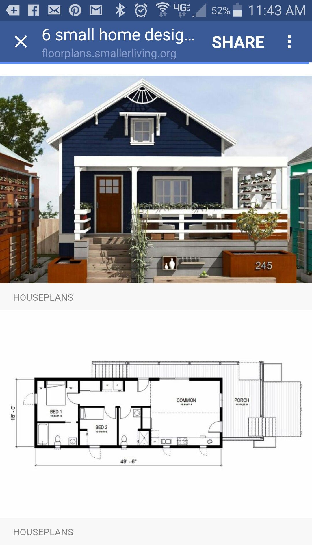 Pin By Arcode Architecture On Small Homes Small House Design Rest House House Plans