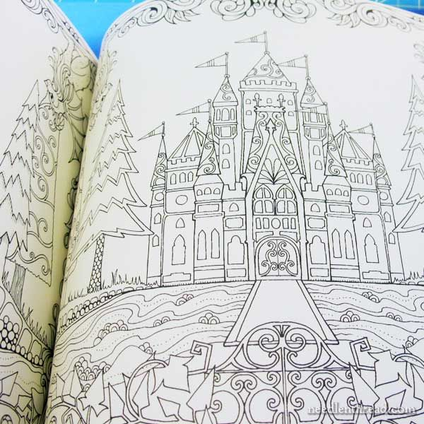 Embroidery Design Inspiration From Coloring Books Enchanted Forest Coloring Book Coloring Books Embroidery Designs