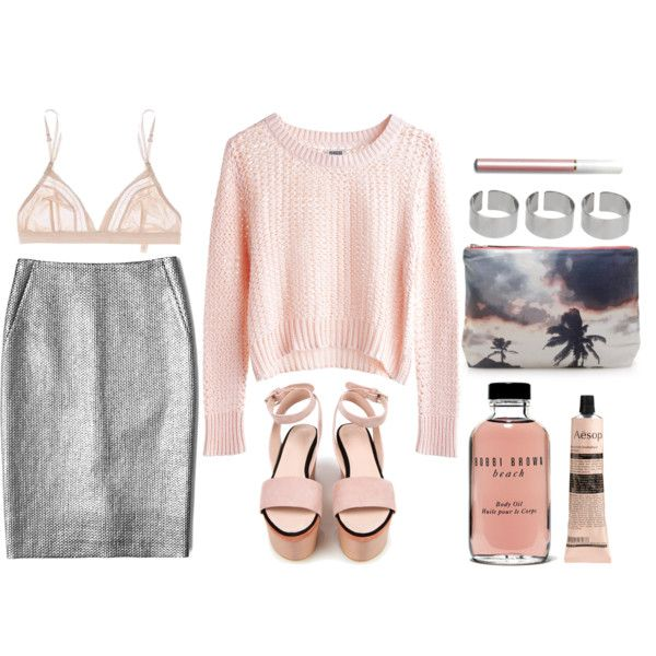 """""""pink & soft"""" by rosiee22 on Polyvore"""