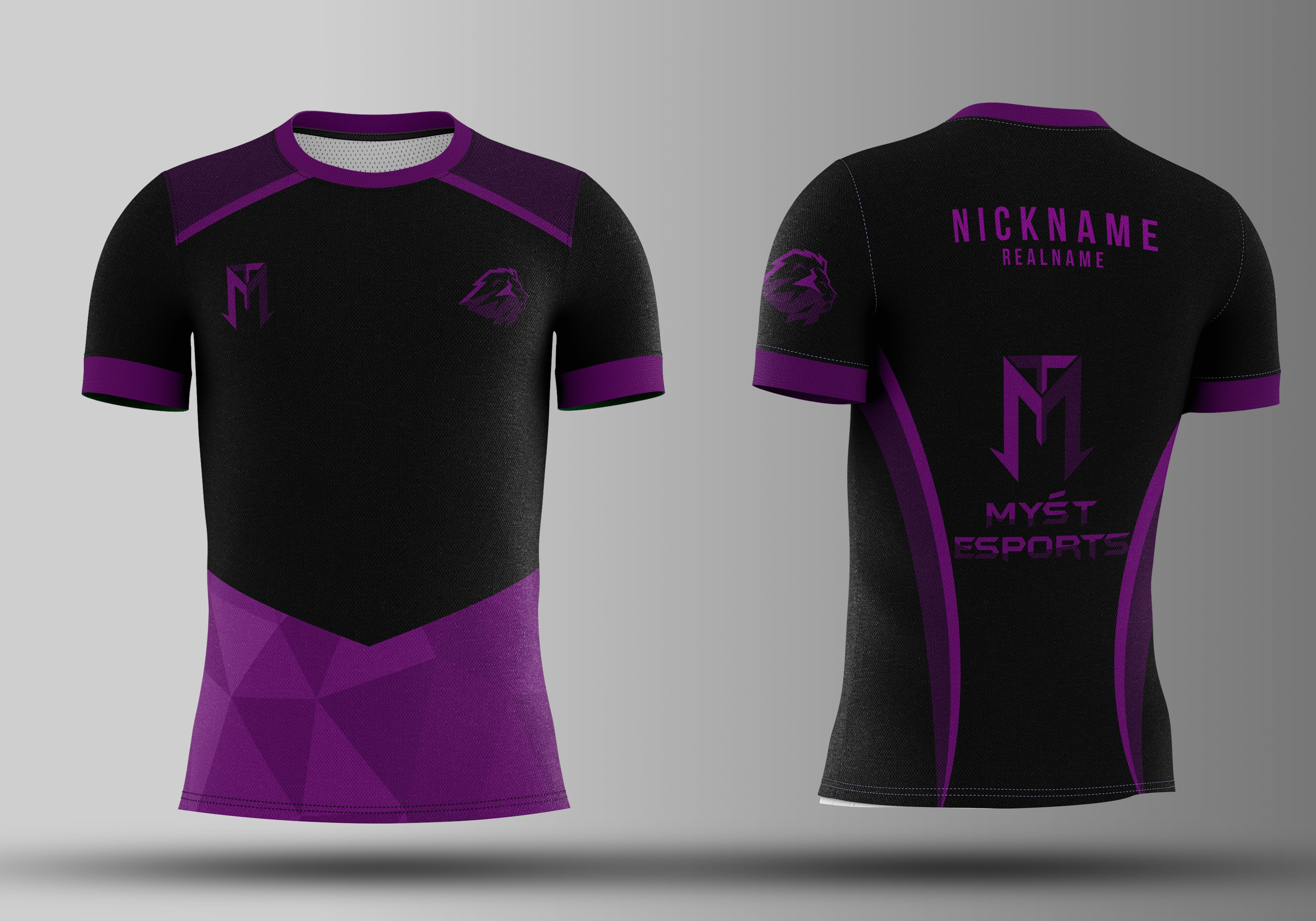 Download I Will Design Jersey For Esports Soccer Etc In 24 Hours Sport T Shirt Shirt Template Sleeves Clothing
