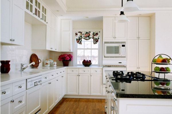 Paint Maple Kitchen Cabinets Antique White  Creative Home Amusing How To Paint Kitchen Cabinets White Decorating Design
