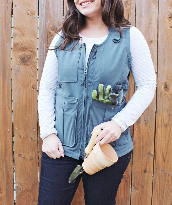 e71a0f4bfce5456c283fc782b2da61d3 - Women's Lightweight Utility Gardening Vest