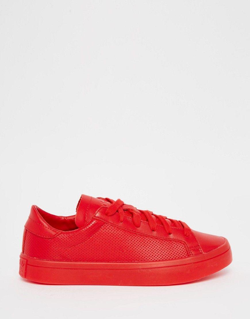 adidas originali corte vantage super colore scarlatto scarpe adidas