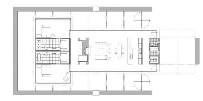 case study house 24 - Google Search | Floor Plans | Pinterest ...
