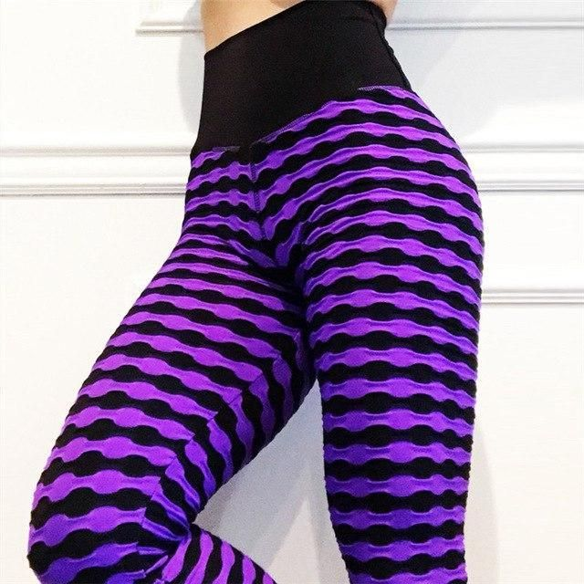 Colette High Waist Casual 'Lift The Hips' Leggings #stripedleggings