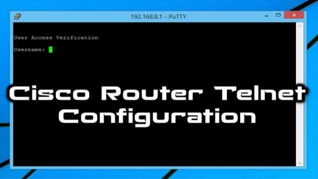 How to Configure Telnet Username and Password on Cisco Router