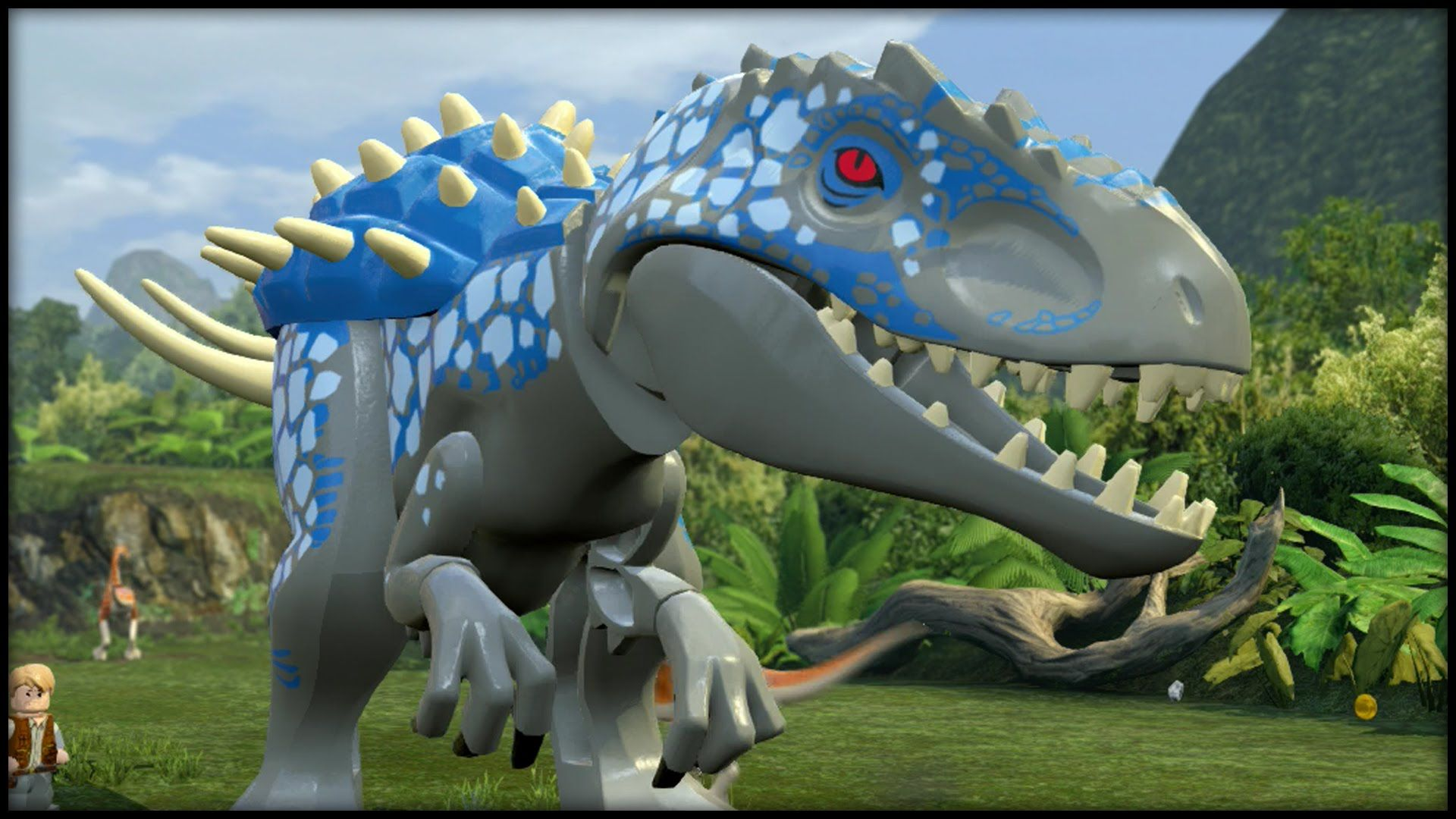 LEGO Jurassic World - DARKSEID T-REX!   LEGO JURASSIC WORLD ...