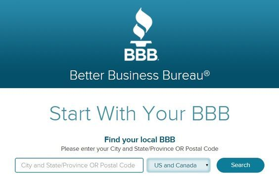 Using Bbb Org Better Business Bureau To Check A Business Compinstructor Computer Training Business Better Business Bureau Savings Advice