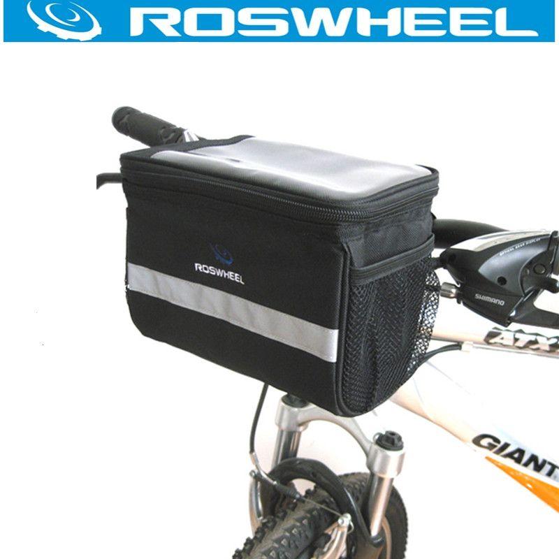 IBERA PakRak Bike Bicycle Waterproof Top Tube Bag Black