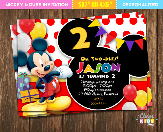 Pin On Mickey Mouse Clubhouse 2nd Birthday
