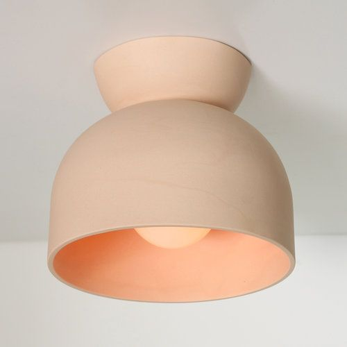 Cedar U0026 Moss Terra Ceramic Light. From The Earth. Unglazed Clay With A  Modern